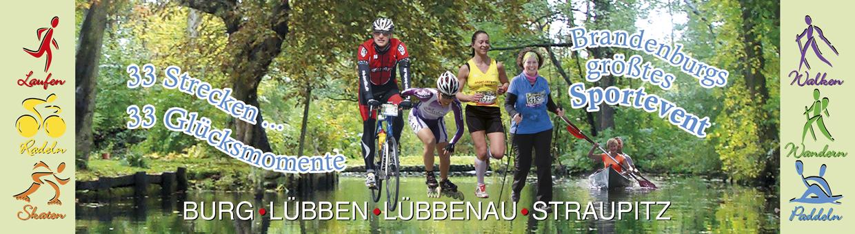 Laufen, Walken, Wandern, Radeln, Skaten und Paddeln auf 33 Strecken mit 13.000 Sportlern
