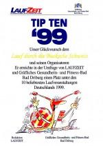 TIPTEN-Urkunde-Durch-die-Bucksche-Schweiz-Hohenbocka-1999