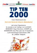 TIPTEN-Urkunde-Durch-die-Bucksche-Schweiz-Hohenbocka-2000