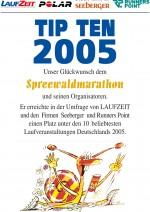 TIPTEN-Urkunde-Spreewald-Marathon-2005
