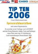 TIPTEN-Urkunde-Spreewald-Marathon-2006