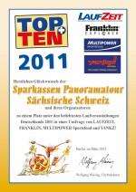 TOPTEN-Urkunde-Panoramatour-2011