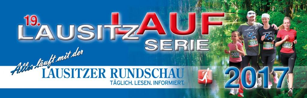 Titelbanner zur Lausitz-Laufserie 2017