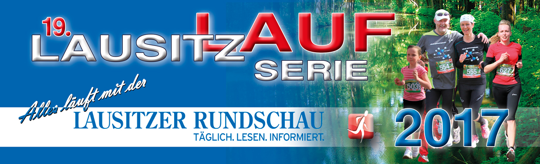 Titelbanner Lausitz-Laufserie 2017