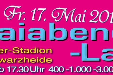 2. Maiabend-Lauf Schwarzheide