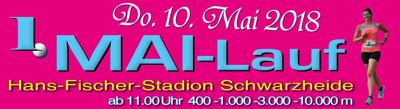 1. Mai-Lauf zum Männertag am 10.05. in Schwarzheide